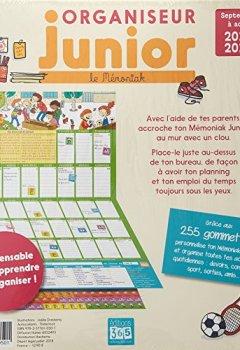 Livres Couvertures de Organiseur Junior Mémoniak 2018-2019