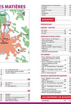 Livres Couvertures de Guide du Routard Budapest 2018/19