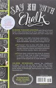 Livres Couvertures de The Complete Book of Chalk Lettering: Create and Develop Your Own Style, Includes Chalk Board in Back of Book