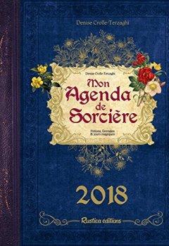 Livres Couvertures de Mon agenda de sorcière 2018