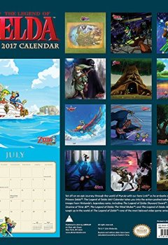 Livres Couvertures de The Legend of Zelda 2017 Calendar