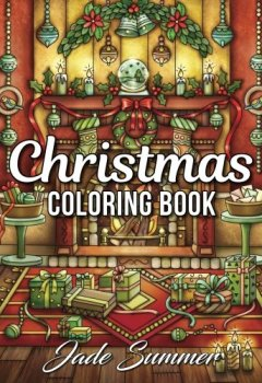 Livres Couvertures de Christmas Coloring Book: An Adult Coloring Book with Fun, Easy, and Relaxing Coloring Pages (Perfect Gift for Christmas Lovers)