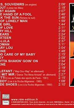 Livres Couvertures de Johnny Hallyday chante en anglais et en allemand