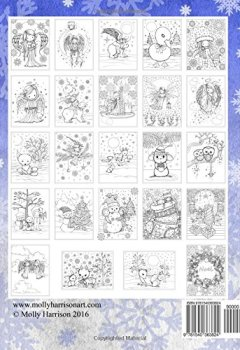 Livres Couvertures de Whimsical Winter Wonderland: Coloring Book by Molly Harrison