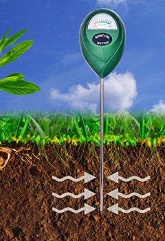 Livres Couvertures de XLUX T10 Capteur d'humidité du sol, hydromètre pour le jardinage, l'Agriculture, ne nécessite pas de piles