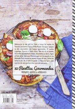 Livres Couvertures de Focaccias, bruschettas, pizzas: Recettes 100% italiennes