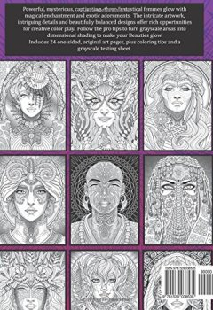 Livres Couvertures de Magical Beauties: A Captivating Coloring Book