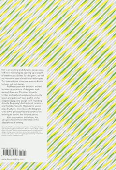 Livres Couvertures de Knit innovation in fashion, art, design
