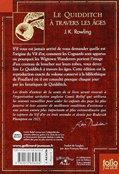 Livres Couvertures de Le Quidditch à travers les âges: Quidditch through the ages