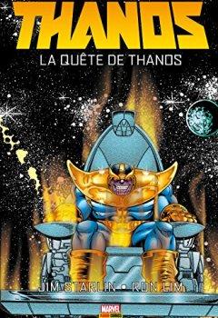 Livres Couvertures de Thanos: La quête de Thanos