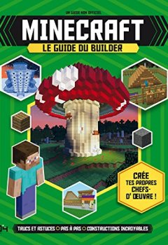 Livres Couvertures de Le guide du builder Minecraft