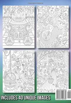 Livres Couvertures de Fantasy Coloring Adventure: A Magical World of Fantasy Creatures, Enchanted Animals, and Whimsical Scenes