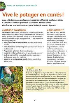 Livres Couvertures de Créer un potager en carrés : Pour cultiver facilement des légumes toute l'année