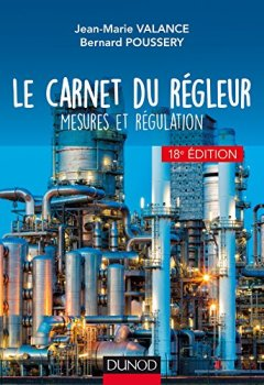 Livres Couvertures de Le carnet du régleur - 18e éd. - Mesures et régulation