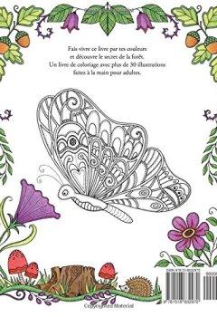Livres Couvertures de Le secret de la forêt: Cherche les bijoux cachés. Coloriages anti-stress pour adultes.