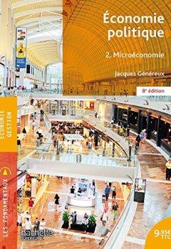 Livres Couvertures de Économie politique 2. Microéconomie