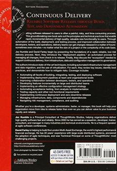Livres Couvertures de Continuous Delivery: Reliable Software Releases through Build, Test, and Deployment Automation