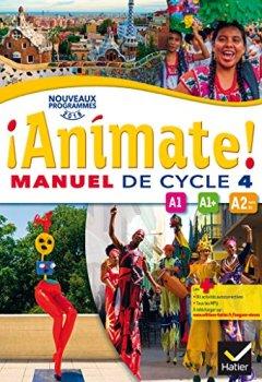 Livres Couvertures de Animate Espagnol Cycle 4 - Manuel de l'élève - Nouveau programme 2016