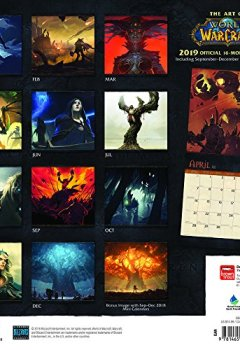 Livres Couvertures de World of Warcraft 2019 Calendar