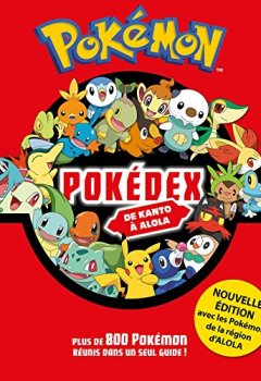 Livres Couvertures de Pokemon - Pokedex intégrale NED 2017