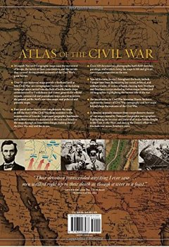 Buchdeckel von Atlas of the Civil War: A Complete Guide to the Tactics and Terrain of Battle (National Geographic)