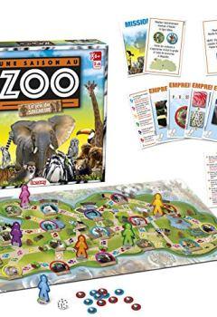 Livres Couvertures de Lansay-75029-une saison au zoo le jeu du soigneur