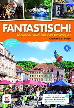 Livres Couvertures de Allemand 2e année A1-A2 Fantastisch! : Livre de l'élève