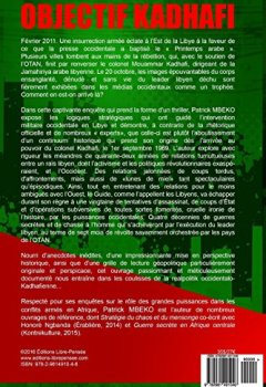 Livres Couvertures de Objectif Kadhafi: 42 ans de guerres secrètes contre le Guide de la Jamahiriya arabe libyenne.