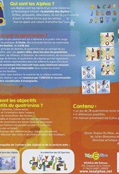 Livres Couvertures de Quatrimino des Alphas (le)