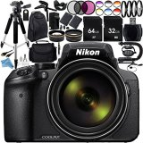 Nikon-COOLPIX-P900-Digital-Camera-with-83x-Optical-Zoom-and-Built-In-Wi-Fi-Black-Ultimate-96GB-Accessory-Kit-Includes-2X-SanDisk-Ultra-Memory-Cards-Wide-Angle-Telephoto-Lenses-MUCH-MORE