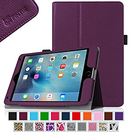 Fintie, a quality product within your reach! This Fintie Folio Case for your new iPad mini 4 / iPad mini 4th Gen is a must have and perfect companion for an easy and enjoying life. This case sports a simple and classy design made from syntheti...