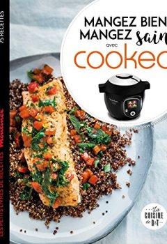 Livres Couvertures de Mangez sain mangez bien avec Cookeo