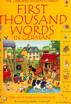 Buchdeckel von First Thousand Words in German