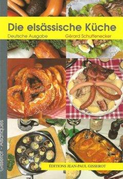 Livres Couvertures de Cuisine d'alsace (allemand)