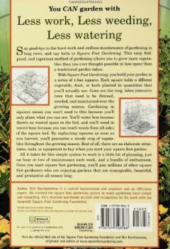 Cover von Square Foot Gardening: A New Way to Garden in Less Space with Less Work