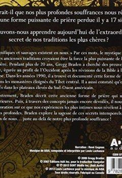 Livres Couvertures de Secrets de l'art perdu de la prière - Livre audio 2 CD