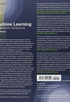 Livres Couvertures de Machine Learning – A Probabilistic Perspective
