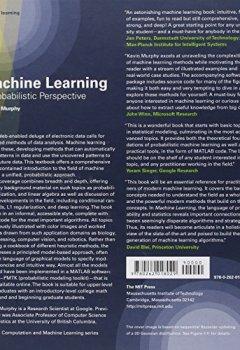 Livres Couvertures de Machine Learning – A Probabilistic Perspective