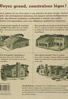 Livres Couvertures de Les Cabanes. Construire sa maison de bois