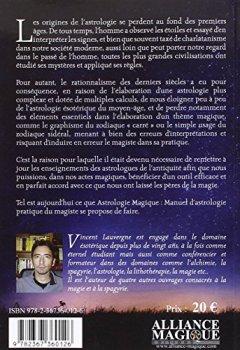 Livres Couvertures de Astrologie magique: Manuel d'astrologie pratique du magiste.