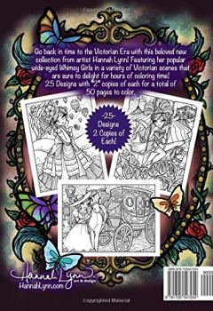 Livres Couvertures de Victorian Darlings Coloring Book