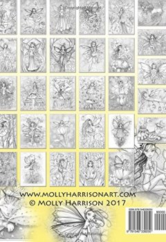 Livres Couvertures de Garden Fairies Grayscale Coloring Book: Featuring the Early Works of Molly Harrison