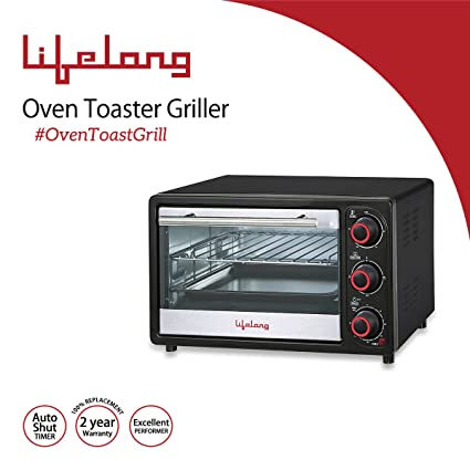 Lifelong 16 Litre Oven Toast Griller @Rs.2,390