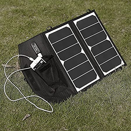 features; 1. Full helpful in nature traveling, for example when walking, biking or camping. 2.The part is simply placed in the sun during the day and loads itself, is very energy-saving and environmentally friendly. 3.The Panel is made of Monoc...