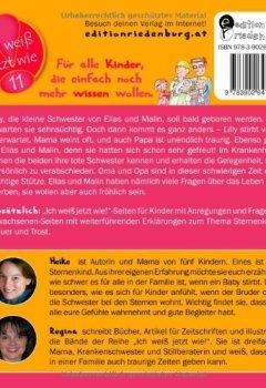 Buchdeckel von Lilly ist ein Sternenkind - Das Kindersachbuch zum Thema verwaiste Geschwister (Ich weiß jetzt wie!)
