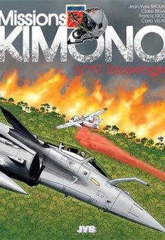 Livres Couvertures de Missions ''Kimono'' T19 Sauvetages