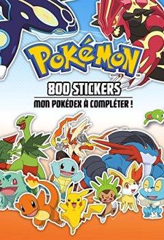 Livres Couvertures de Pokemon - 800 stickers