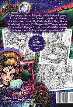 Livres Couvertures de Fairy Tale Princesses & Storybook Darlings Coloring Book