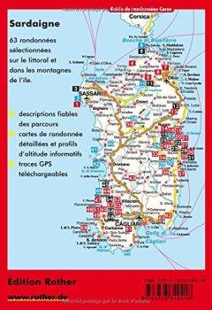 Livres Couvertures de Sardaigne : 63 randonnées choisies sur le littoral en montagne