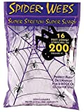 Super Stretch Spider Web - 16 Foot by Fun World